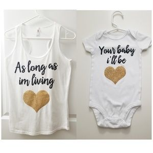Matching Mommy and Me outfit set ❤❤